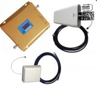Усилитель сотовой связи и интернета 3G/4G LTE частоты 1800/2100MHz